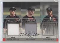 Austin Kearns, Adam Dunn, Barry Larkin /75