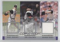 Randy Johnson, Curt Schilling, Brandon Webb /150