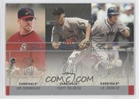 Jim Edmonds, Scott Rolen, J.D. Drew /250