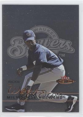 2003 Fleer Mystique #87 - Rickie Weeks /699