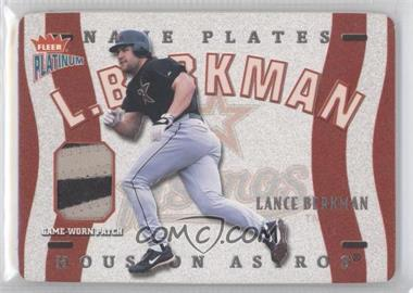 2003 Fleer Platinum [???] #N-LB - Lance Berkman /176