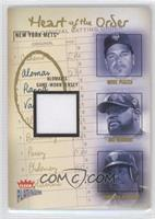 Mike Piazza, Mo Vaughn, Roberto Alomar /400