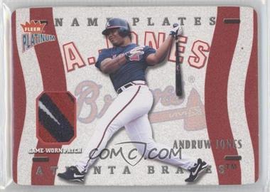 2003 Fleer Platinum Nameplates #N-AJ - Andruw Jones /170