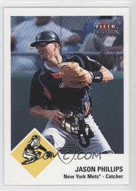 2003 Fleer Tradition - [Base] - Glossy #190 - Jason Phillips /100