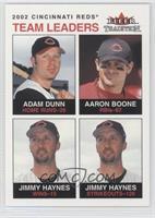 Adam Dunn, Aaron Boone, Jimmy Haynes /100
