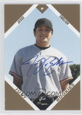 2003 Just Minors Just Rookies - [Base] - Gold Autographs [Autographed] #17 - Jesse English /100