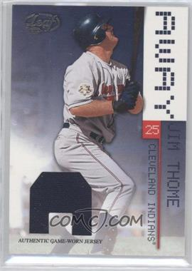 2003 Leaf Away Materials [Memorabilia] #4 - Jim Thome /250