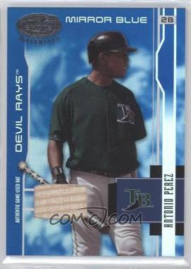 2003 Leaf Certified Materials - [Base] - Mirror Blue Materials [Memorabilia] #179 - Antonio Perez /100
