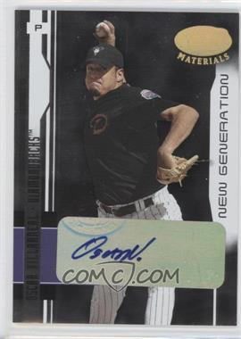 2003 Leaf Certified Materials #217 - Oscar Villarreal /400