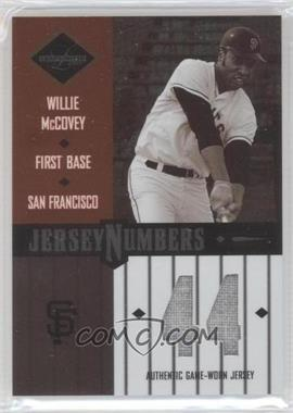 2003 Leaf Limited [???] #JN-54 - Willie McCovey /50