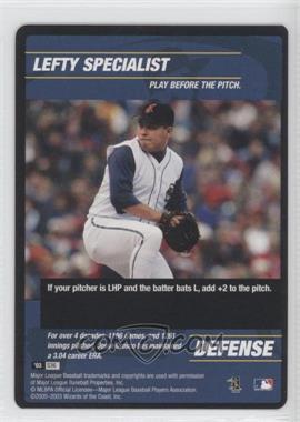2003 MLB Showdown Strategy #S36 - Jesse Orosco