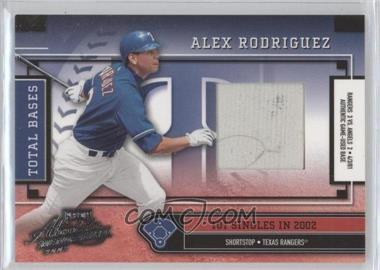 2003 Playoff Absolute Memorabilia [???] #TB-13 - Alex Rodriguez /101