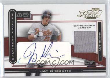 2003 Playoff Piece of the Game - [Base] - Autographs [Autographed] #POG-49 - Jay Gibbons
