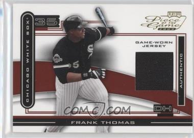 2003 Playoff Piece of the Game #POG-32 - Frank Thomas (Jersey)