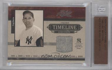 2003 Playoff Prime Cuts [???] #T-25 - Yogi Berra /50 [BGS AUTHENTIC]