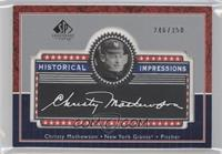 Christy Mathewson /350