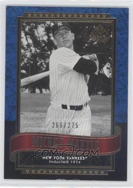 2003 SP Legendary Cuts Blue #91 - Mickey Mantle /275