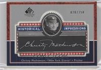 Christy Mathewson /250