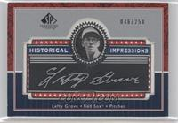 Lefty Grove /350