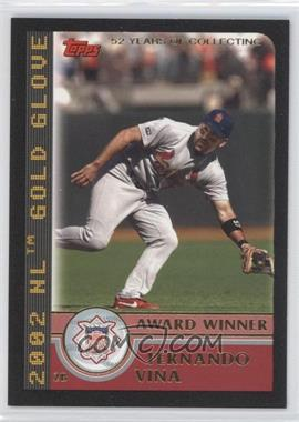 2003 Topps - [Base] - Black #697 - Fernando Vina /52