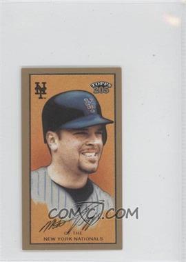2003 Topps 205 - [Base] - Mini Brooklyn Back #12 - Mike Piazza