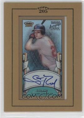 2003 Topps 205 Framed Autographs #TA-SR - Scott Rolen