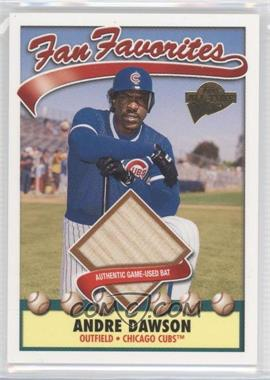 2003 Topps All-Time Fan Favorites - Relics #FFR-ADA - Andre Dawson