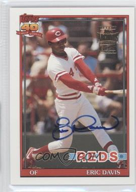 2003 Topps All-Time Fan Favorites Autographs #FFA-ED - Eric Davis