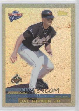 2003 Topps All-Time Fan Favorites Refractor #50 - Cal Ripken Jr. /299