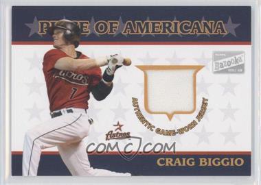 2003 Topps Bazooka Piece of Americana #PA-CB - Craig Biggio