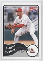 Albert Pujols (Color Bazooka Logo)