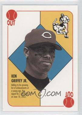 2003 Topps Blue Backs #N/A - Ken Griffey Jr.