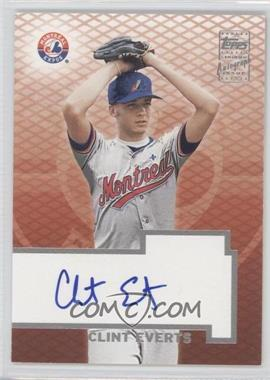 2003 Topps Certified Autographs [Autographed] #TA-CE - Clint Everts