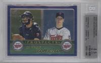 Justin Morneau, Joe Mauer [BGS 8.5]