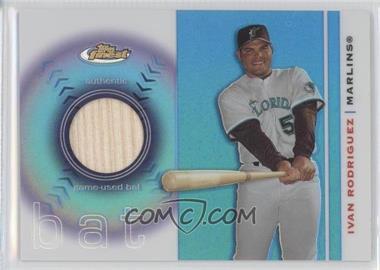 2003 Topps Finest Bat #FRB-IR - Ivan Rodriguez