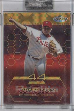 2003 Topps Finest Gold X-Fractor #91 - Vicente Padilla /199
