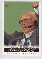 Ernie Harwell (green background)