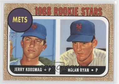 2003 Topps Gallery Heritage #GH-KR - Nolan Ryan, Jerry Koosman