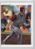 Adam Dunn (red sleeves and helmet)