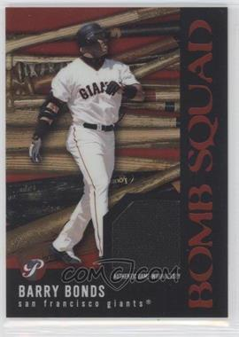 2003 Topps Pristine Bomb Squad Relics #PBS-BB - Barry Bonds