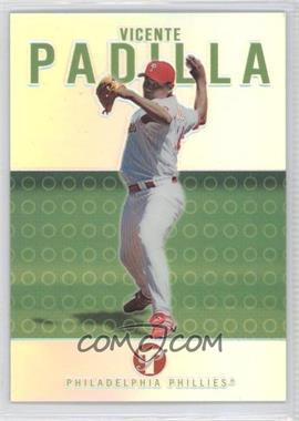 2003 Topps Pristine Uncirculated Refractor #37 - Vicente Padilla /99