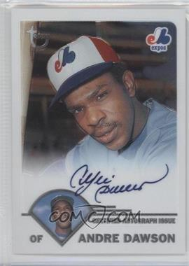 2003 Topps Retired Signature Edition Autographs #TA-AD - Andre Dawson