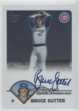 2003 Topps Retired Signature Edition Autographs #TA-BSU - Bruce Sutter