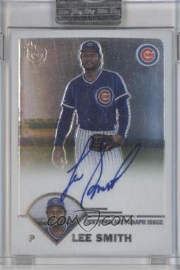 2003 Topps Retired Signature Edition Autographs #TA-LS - Lee Smith