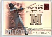 Rickey Henderson /50