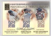 Manny Ramirez, Mike Piazza, Rickey Henderson