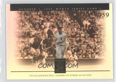 2003 Topps Tribute World Series [???] #148 - Ted Kluszewski