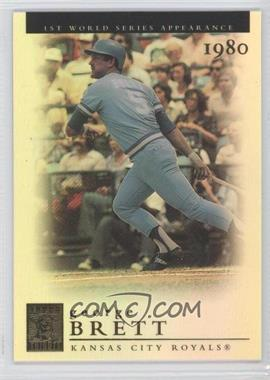 2003 Topps Tribute World Series [???] #50 - George Brett
