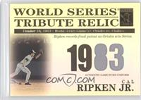 Cal Ripken Jr. /425
