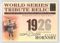 Rogers Hornsby /425